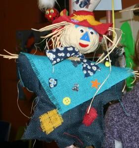 Hessian Scarecrow