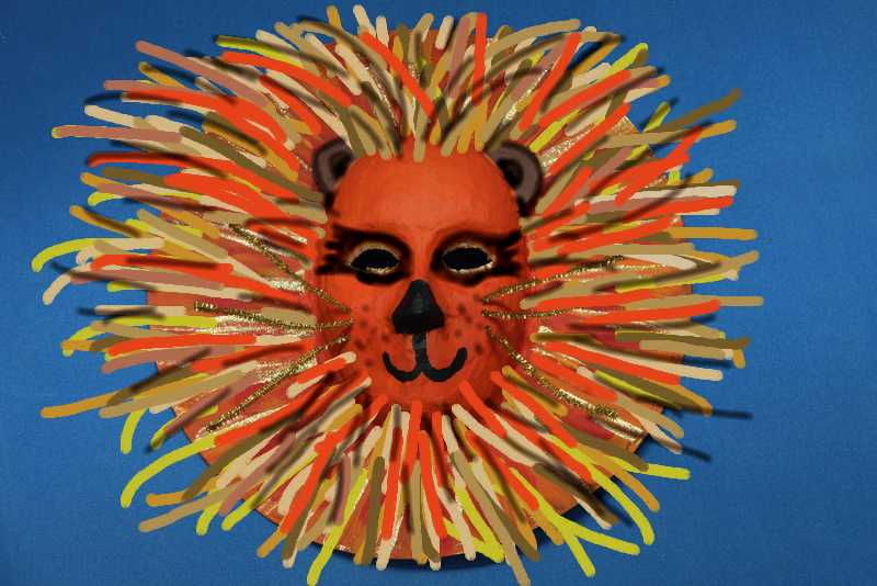 Lion in Artweaver