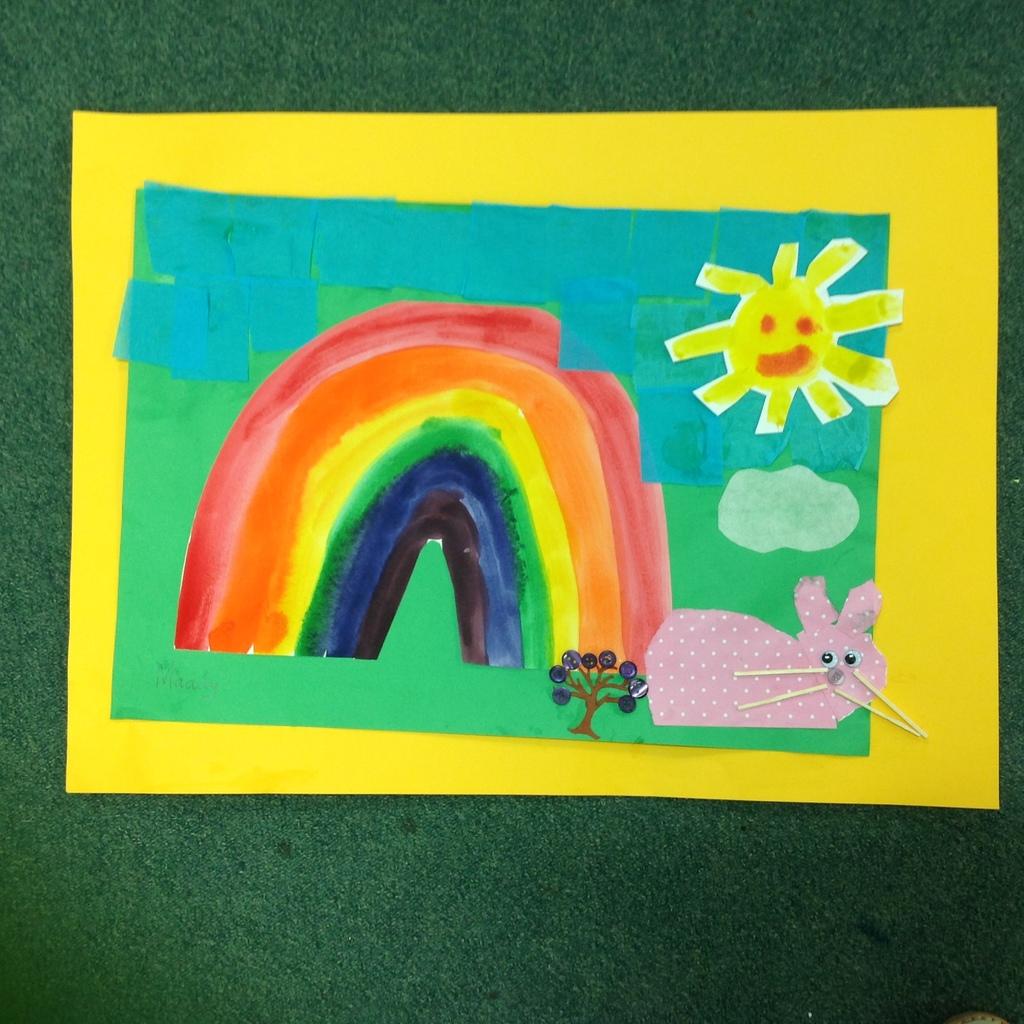 Mixed Media What Makes A Rainbow Visual Arts At Taylors Lakes